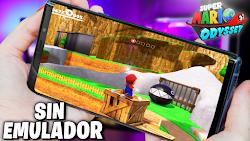Super Mario 64 Odyssey Sin Emulador Para Teléfonos Android (Apk)
