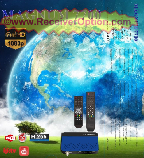 MAGNUM 7700 HD RECEIVER NEW SOFTWARE WITH ADD IP AUDIO