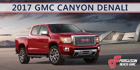 Ferguson Buick GMC If you d like to learn more about GMC s award winning pickups  contact  Ferguson Buick GMC in Broken Arrow  Oklahoma  We re the fastest growing GMC  dealer in