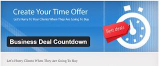 Business deal countdown - плагин WordPress таймер и перенаправление