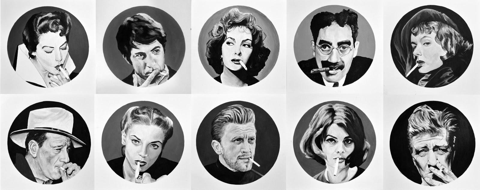 10 cuadros de película del pintor Roge Fdez - Viva Lugo