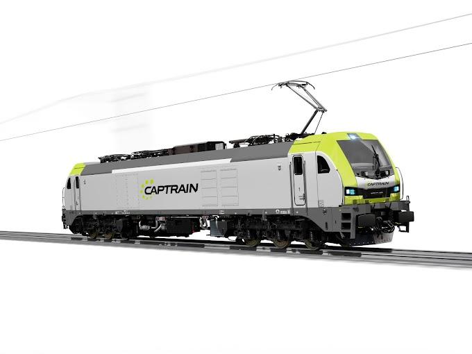 Captrain España encarga 11 locomotoras EURO 6000