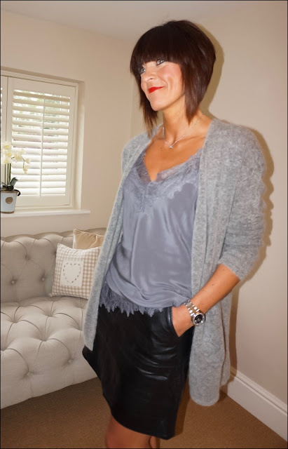 My Midlife Fashion, John lewis modern rarity silk camisole