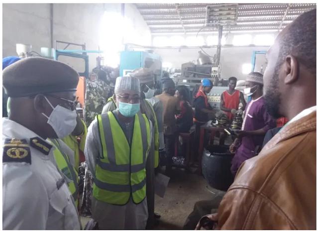 Court seals 2 factories for violation of sanitation law