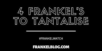 Four Frankel 2yos