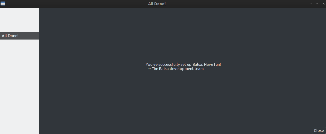 Balsa - Simple and light email client on Archlinux