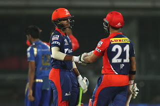 Shreyas Iyer 83 | JP Duminy 78* - DD vs MI 21st Match IPL 2015 Highlights