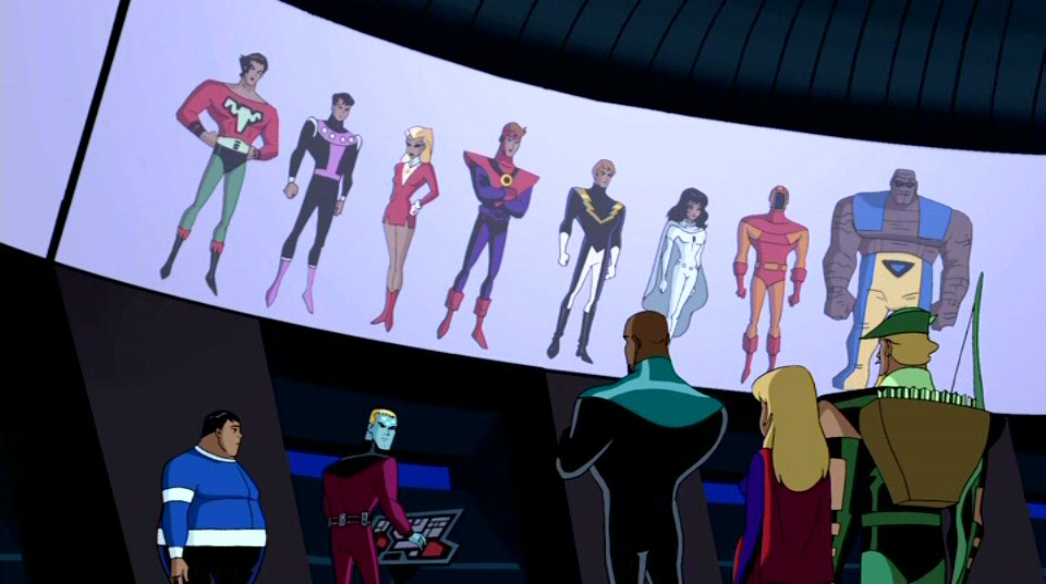 The Legion Of Super Bloggers Justice League Unlimited S03 E10 Far From Home