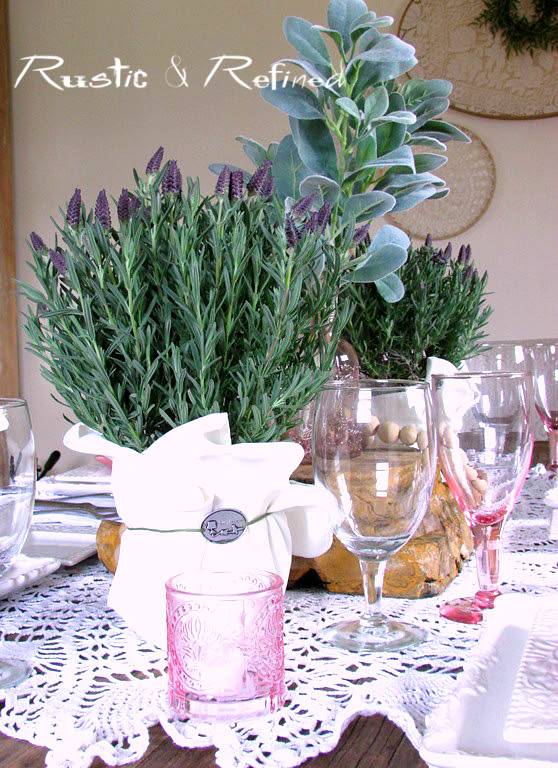 Fresh Lavender Centerpiece Ideas