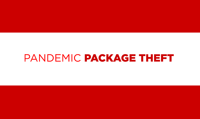The Rise of Package Theft During the COVID-19 Pandemic
