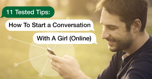 How to start a conversation about dating with a girl