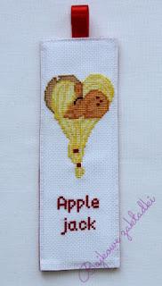 Zakładka do książki Applejack – Applejack bookmark