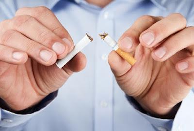 cigarro partido por la mitad
