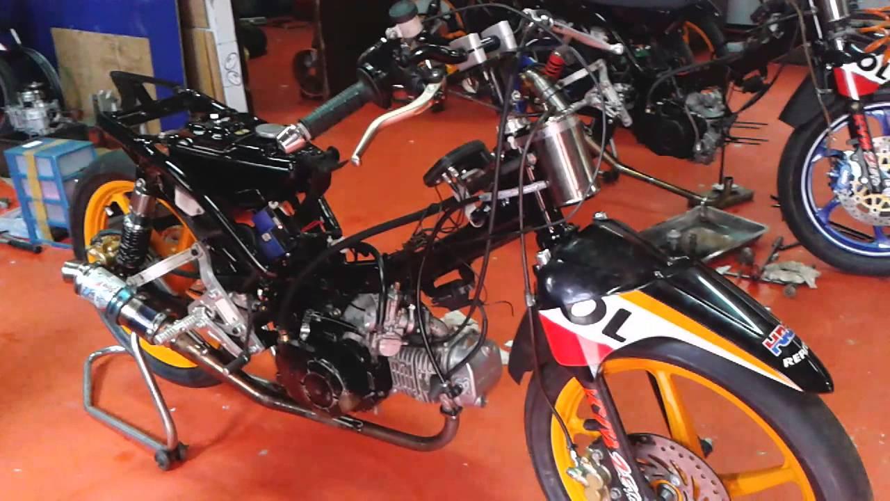 Koleksi Modifikasi Motor Trail Blade Terlengkap Velgy Motor