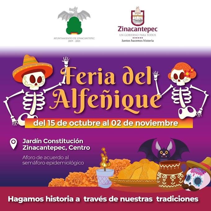 Feria del Alfeñique Zinacantepec 2021