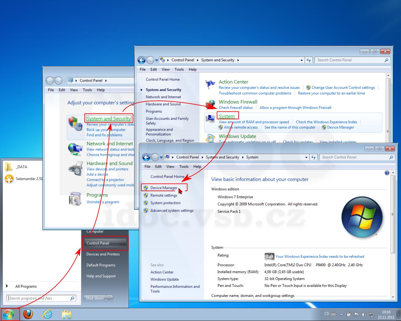 Microsoft acpi compliant control Method Battery driver