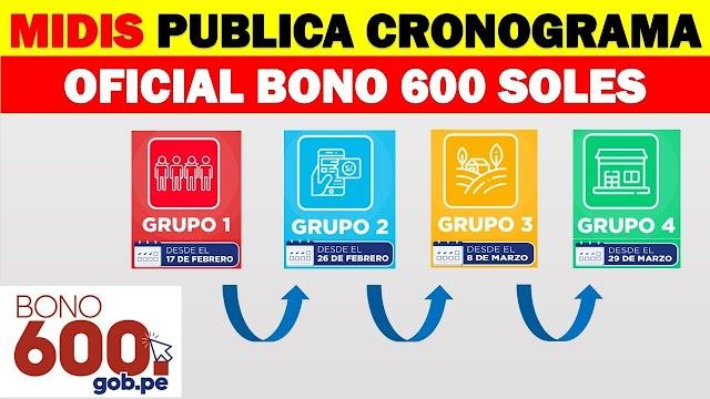Bono 600 soles: CONOCE las FECHAS y modalidades del bfu 2021