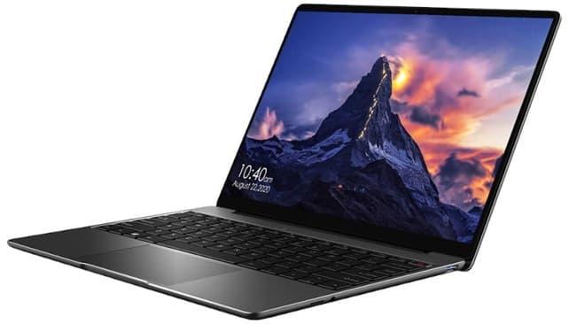 CHUWI GemiBook Pro: ultrabook de 14'' con pantalla 2K, procesador Intel Celeron de 4 núcleos y disco SSD de 512 GB