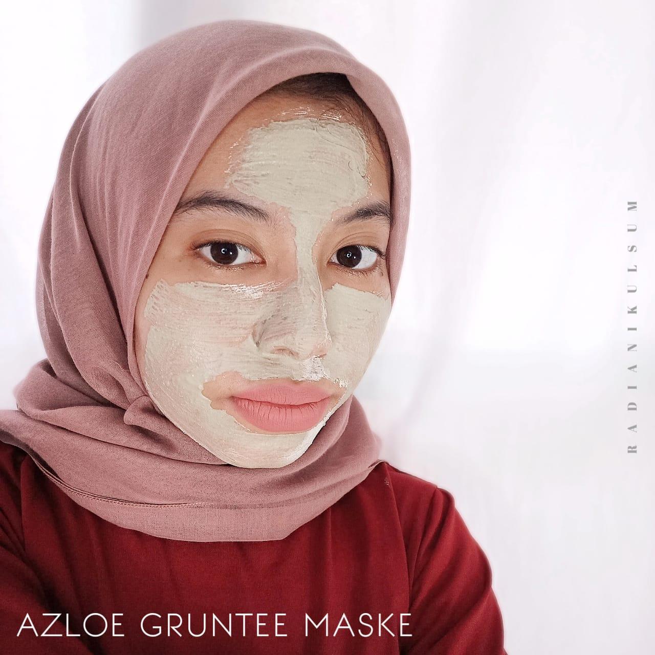Pemakaian Azloe Gruntee Maske