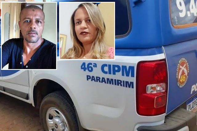 Identificado homem que matou ex-esposa a tiros e cometeu suicídio em Paramirim