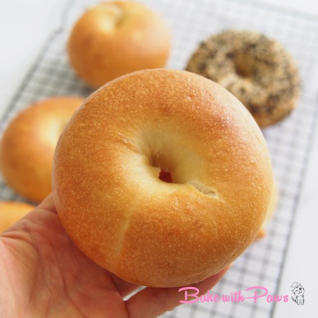 Sourdough Bagel (Yudane Method)