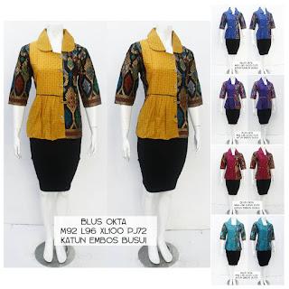 Blouse Batik Okta