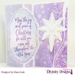 Stamp Set: Christmas Wishes Custom Dies: Flip Fold with Layers, Snow Crystals, Splendorous Stars Paper Collection: Christmas 2019