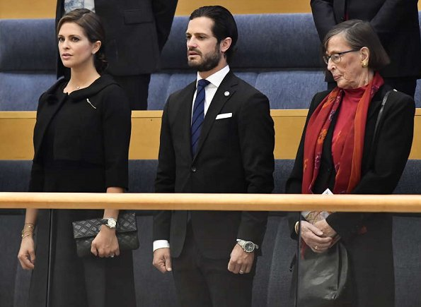 Queen Silvia, Crown Princess Victoria, Prince Daniel, Prince Carl Philip and Princess Madeleine