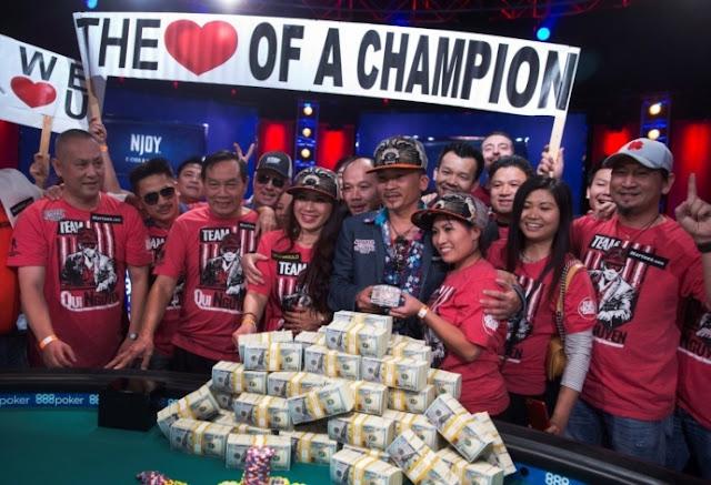 Qui Nguyen thắng giải Poker 172 tỷ đồng