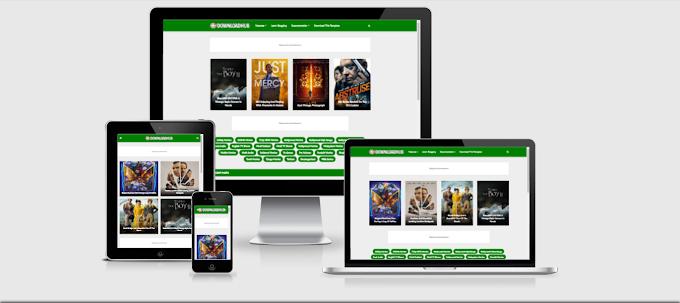 Download Hub Premium Blogger Template - Free Download