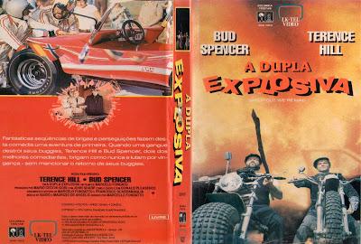 Filme A Dupla Explosiva 1974 (Altrimenti ci arrabbiamo) DVD Capa