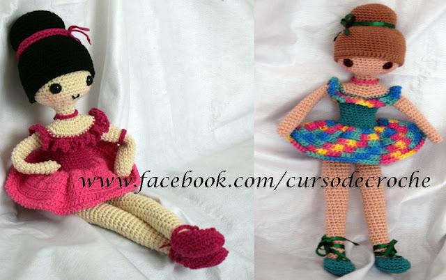 Amigurumi Bichinhos e Bonecas em Crochê Curso Iniciantes ao Avançado