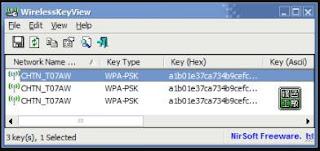 أفضل, وأقوى, برنامج, موثوق, لإستعادة, باسورد, شبكات, الواى, فاى, WirelessKeyView