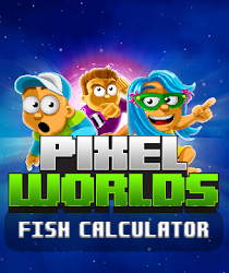 pixel worlds fish calculator