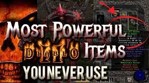 4 Most Ignored Powerful Diablo 2 Items that You Must Use