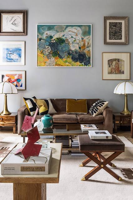 Living Room - French Art Deco Flat