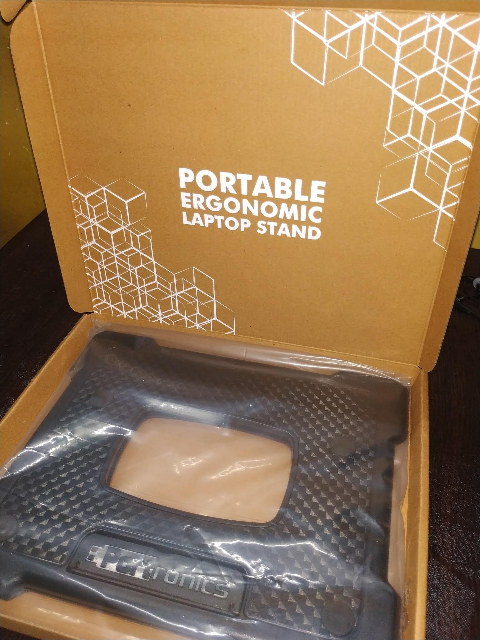 unboxing-myhexa-stand-portronics