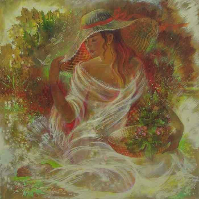 Украинская художница. Элен Зелин