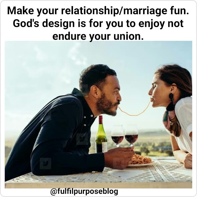 HOW TO MAKE YOUR RELATIONSHIP AND MARRIAGE FUN