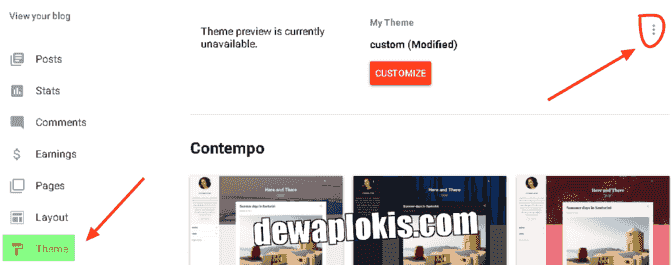 Cara Membuat Tombol Back To Top Blogger Dengan Icon SVG