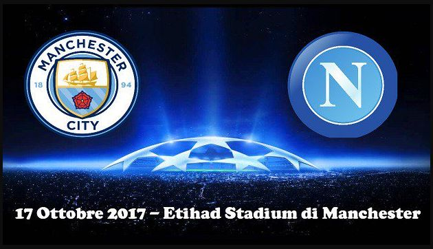 Dove Vedere MANCHESTER CITY NAPOLI Diretta Streaming Canale 5 VIDEO Online Gratis Champions League