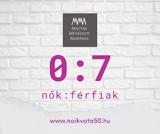 A Magyar Művészeti Akadémia vezetői között 0:7 a nők és férfiak aránya #KE67