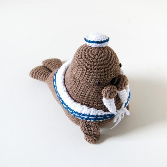 Elefante Marinaio - Free amigurumi pattern | 640x640