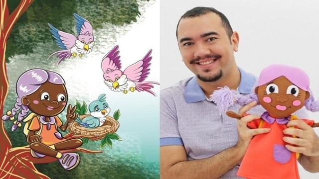 Artista patoense conquista prêmio literário por seu primeiro livro infantil