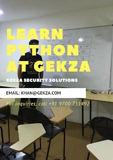 python training in hyderabad banjara hills, gekza training python, #gekzapy
