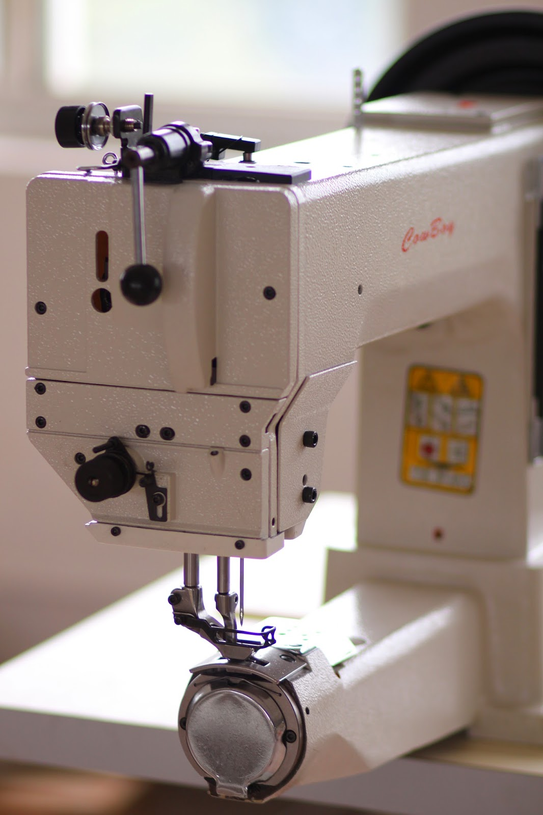 sewing machine for and leather