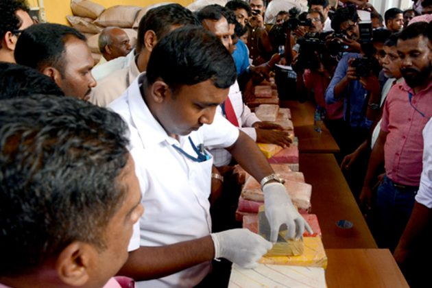 Largest cocaine haul nabbed in Orugodawatte