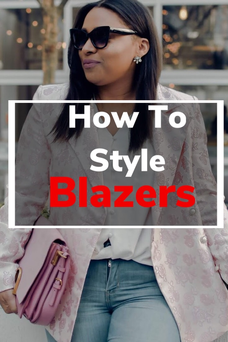 how to style a blazer, outfit ideas with blazers, women blazer, outfit ideas for spring, pattys kloset