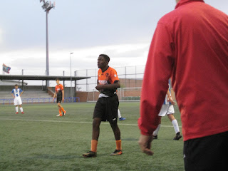I played in the Miraflores 2019 athletic Fuenlabreño sports club team