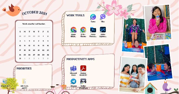 Cute Customized Desktop Wallpaper